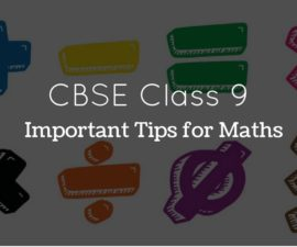 CBSE CLASS 9 MATHEMATICS